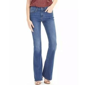 Banana Republic Blue High Rise Flare Jeans